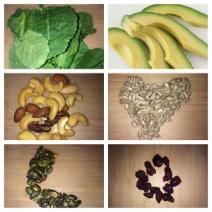 seedy energy salad